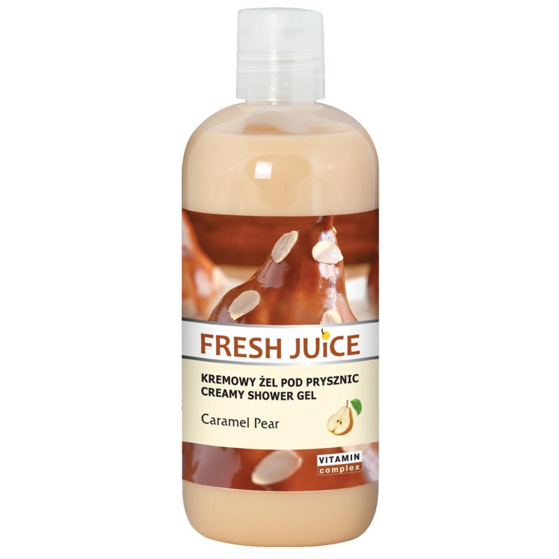 Fresh Juice Caramel & Pear Creamy Shower Gel