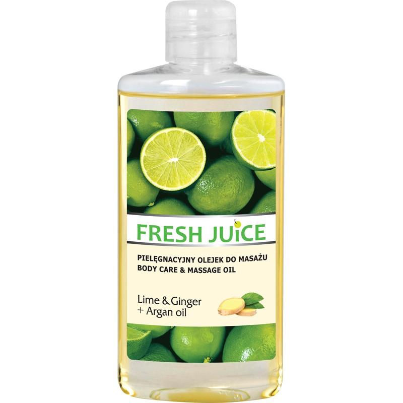 Fresh Juice Lime & Ginger Body Care & Massage Oil