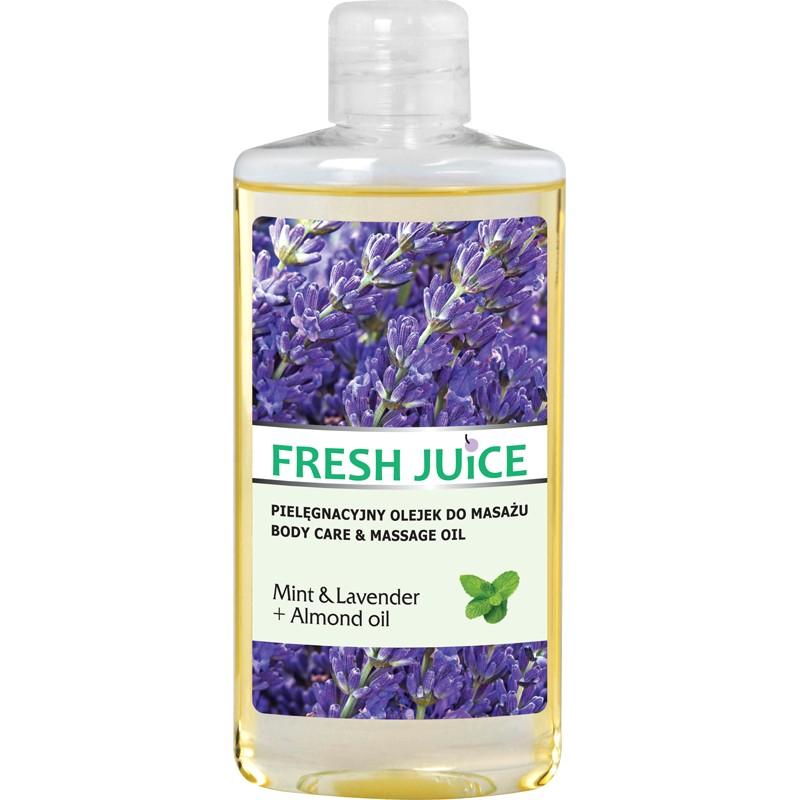 Fresh Juice Mint & Lavender & Almond Oil Body Care & Massage Oil