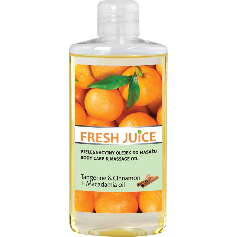 Fresh Juice Tangerine & Cinnamon Body Care & Massage Oil