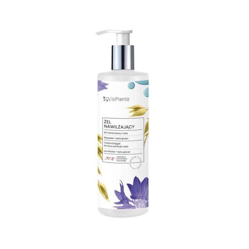Vis Plantis Cornflower Face And Body Wash