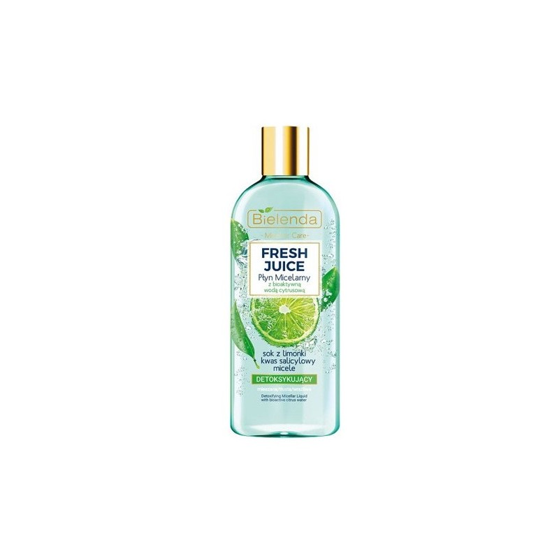 Bielenda Fresh Juice Detoxifying Micellar Liquid Lime