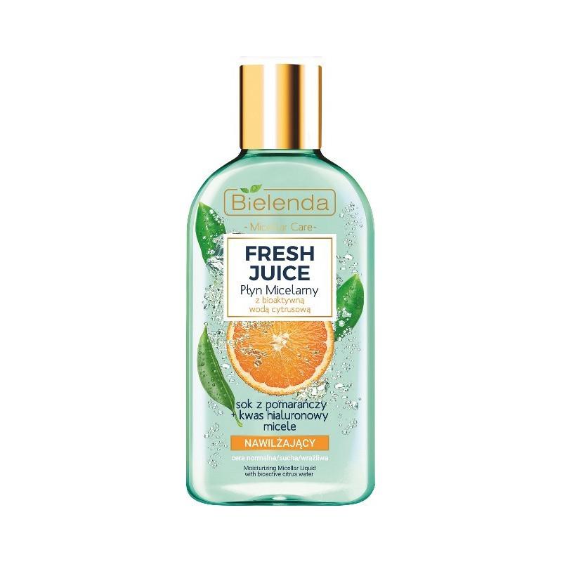Bielenda Fresh Juice Moisturizing Micellar Liquid Orange Juice