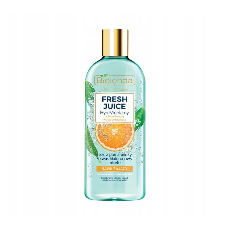 Bielenda Fresh Juice Moisturizing Micellar Liquid Orange