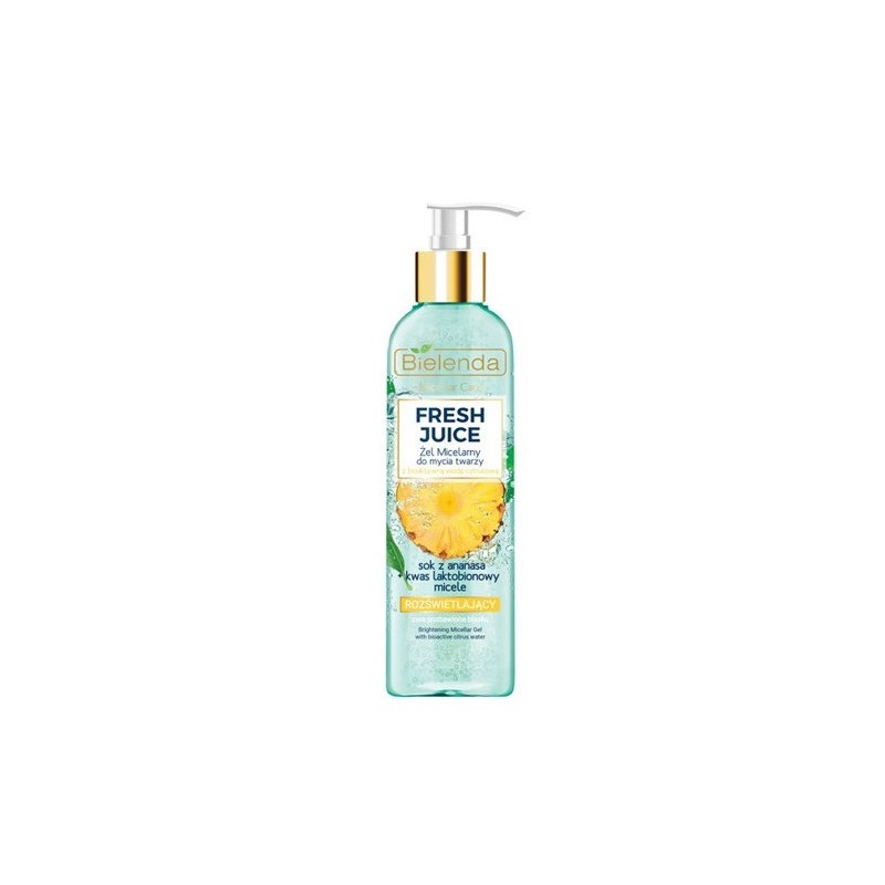 Bielenda Fresh Juice Brightening Micellar Gel Pineapple