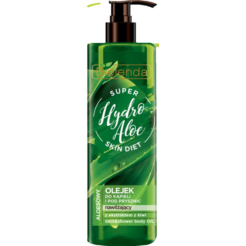 Bielenda Super Skin Diet Hydro Aloe Moisturizing Bath Oil