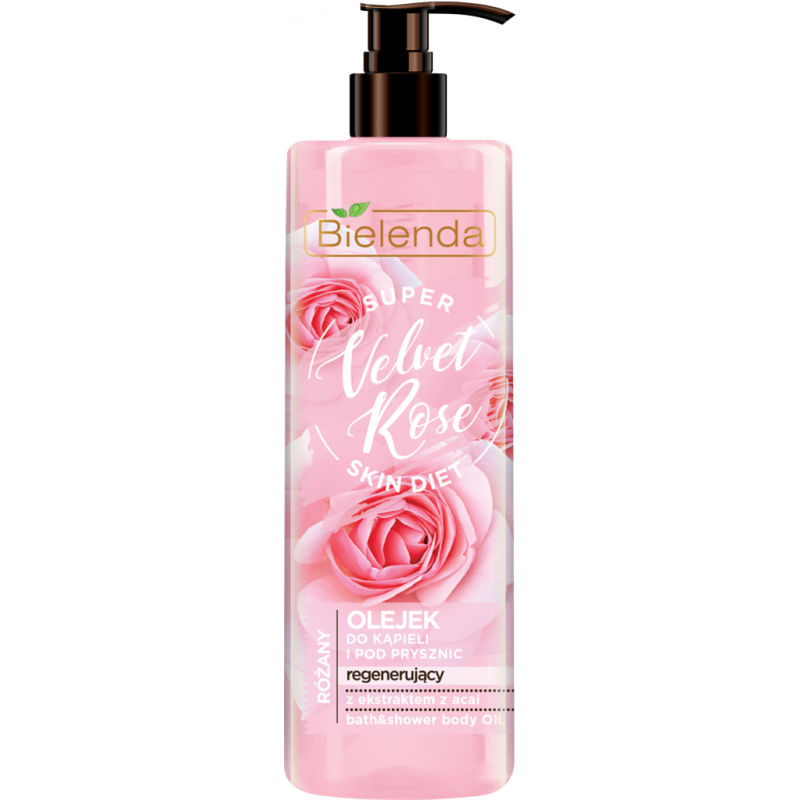 Bielenda Super Skin Diet Velvet Rose Regenerating Bath Oil
