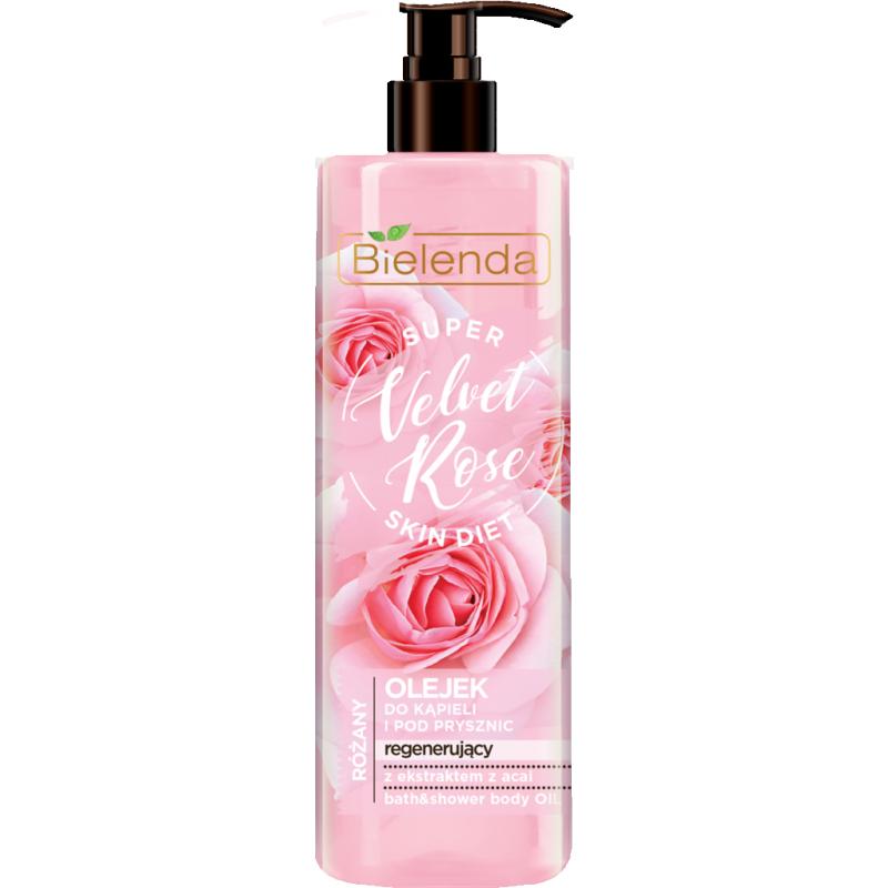 Bielenda Super Skin Diet Velvet Rose Regenerating Bath Oil