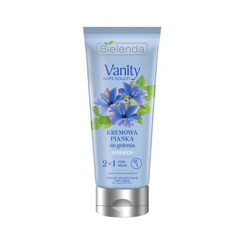 Bielenda Vanity Soft Touch Hibiscus Hair Removal Shaving Foam