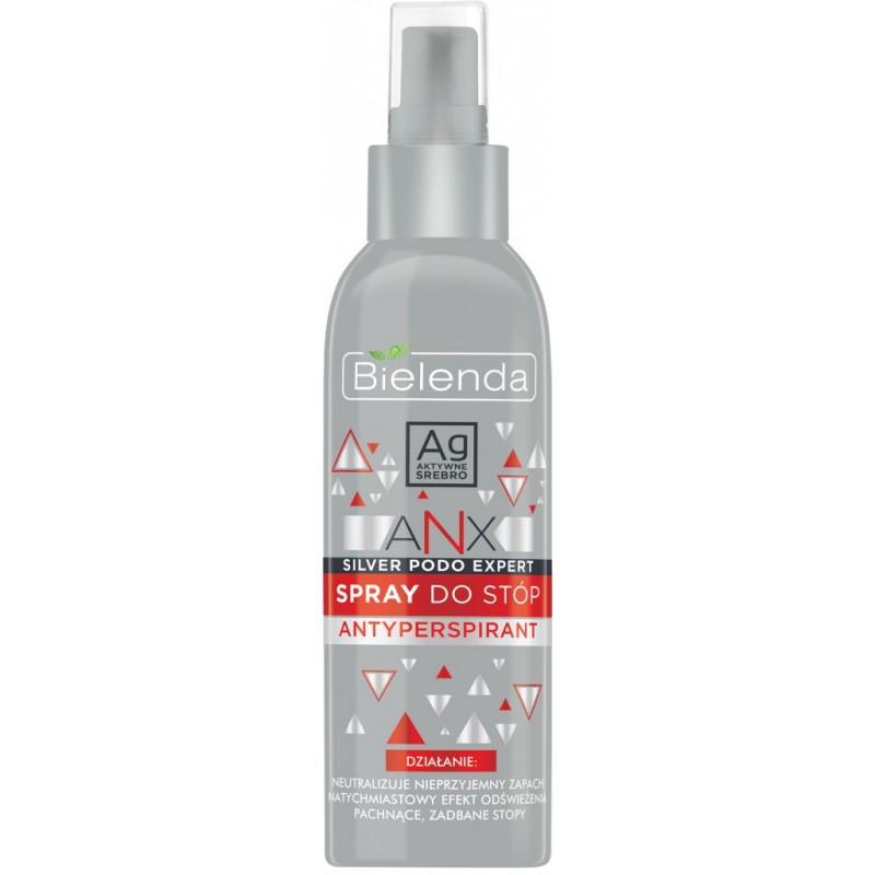 Bielenda Anx Silver Podo Antiperspirant Foot Spray
