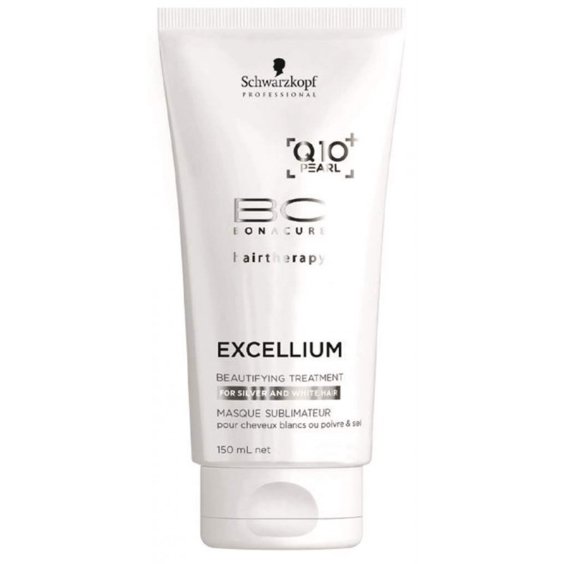 Schwarzkopf Bonacure Execellium Q10+ Beautifying Silver Hair Treatment