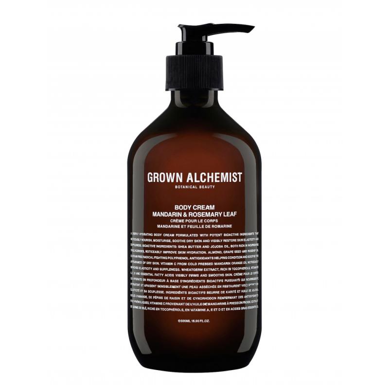 Grown Alchemist Body Cream Mandarin & Rosemary Leaf
