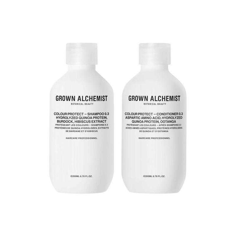 Grown Alchemist Colour Protect Shampoo & Conditioner 0.3