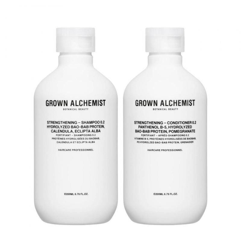 Grown Alchemist Strengthening Shampoo & Conditioner 0.2