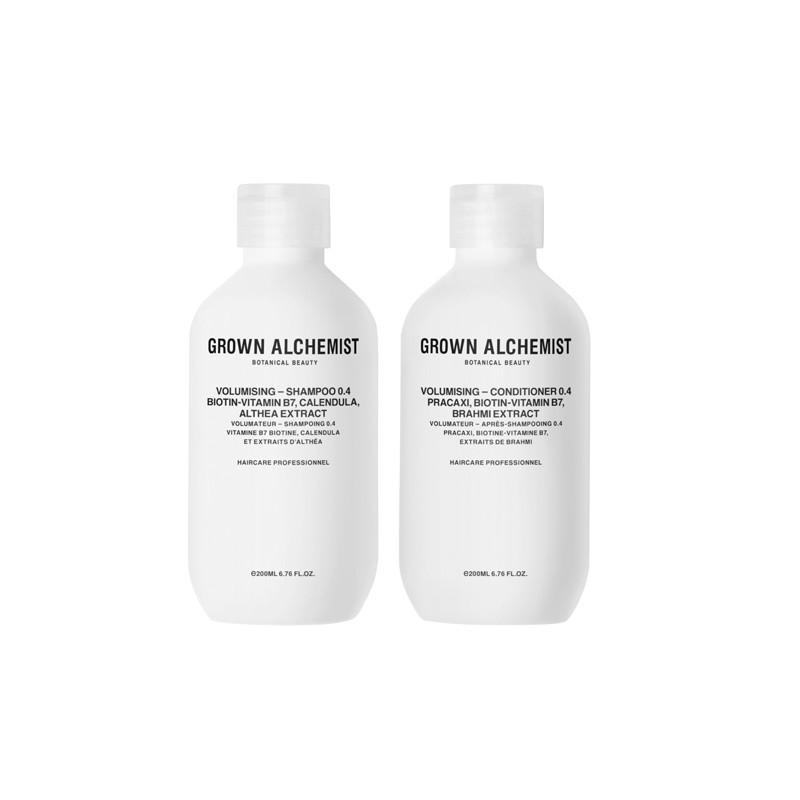 Grown Alchemist Volumising Shampoo & Conditioner 0.4