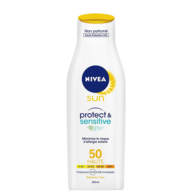 Nivea Sun Protect & Sensitive Lotion SPF50