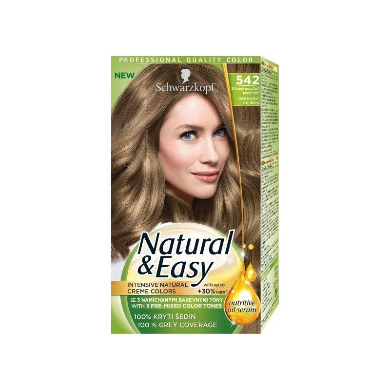 Schwarzkopf Natural & Easy 542 Opal Medium Ash Blond