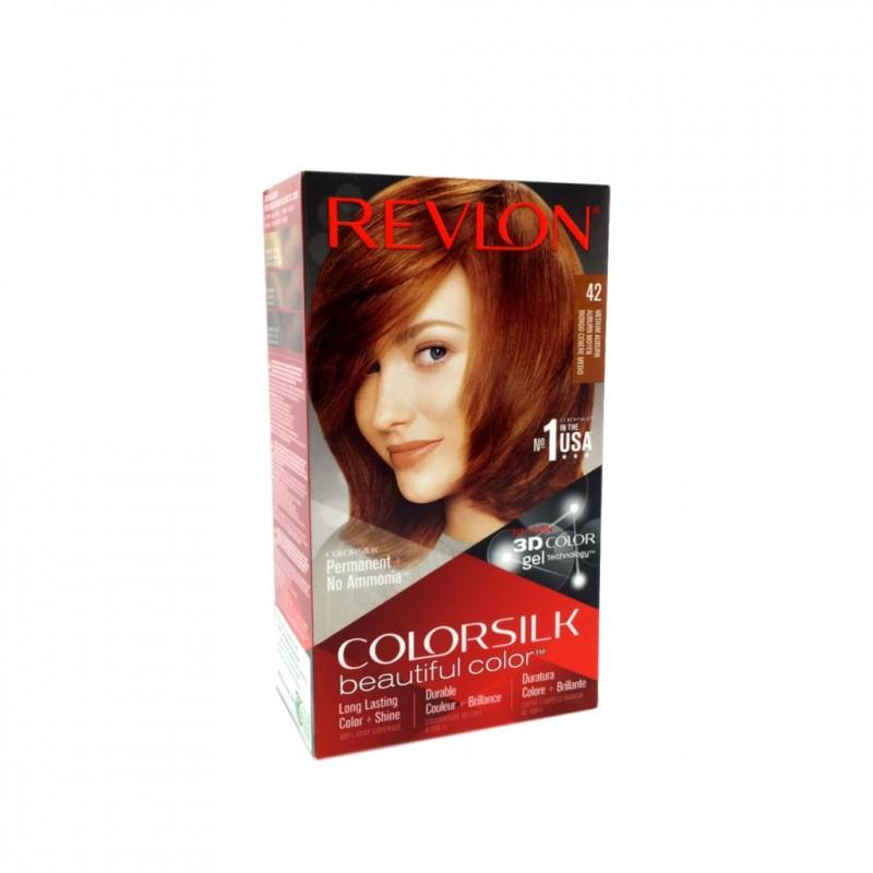 Revlon Colorsilk Permanent Haircolor 42 Medium Auburn