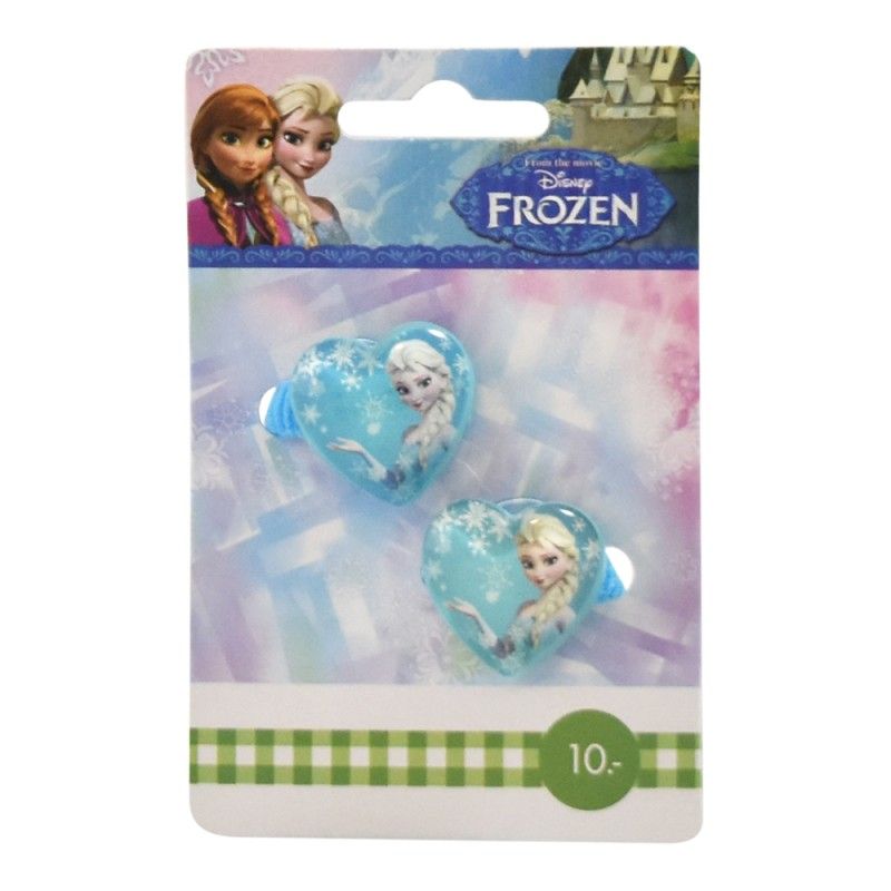 Disney Frozen Elsa Hair Elastics Blue