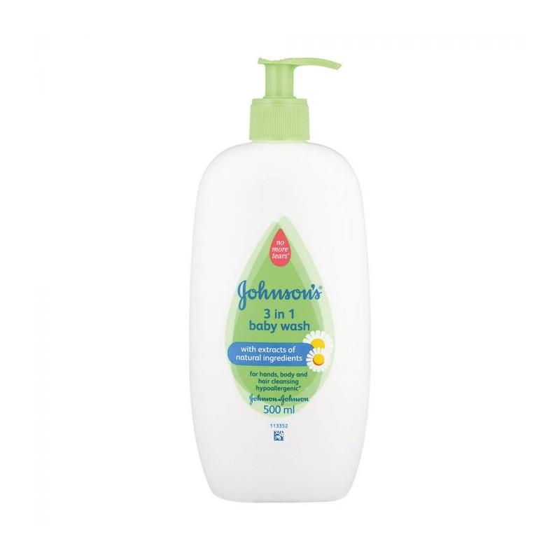Johnson's 3in1 Baby Wash