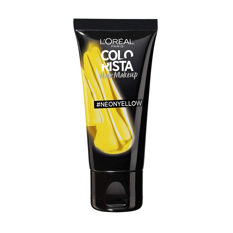 L'Oreal Colorista Hair Makeup For Blondes #Neonyellow