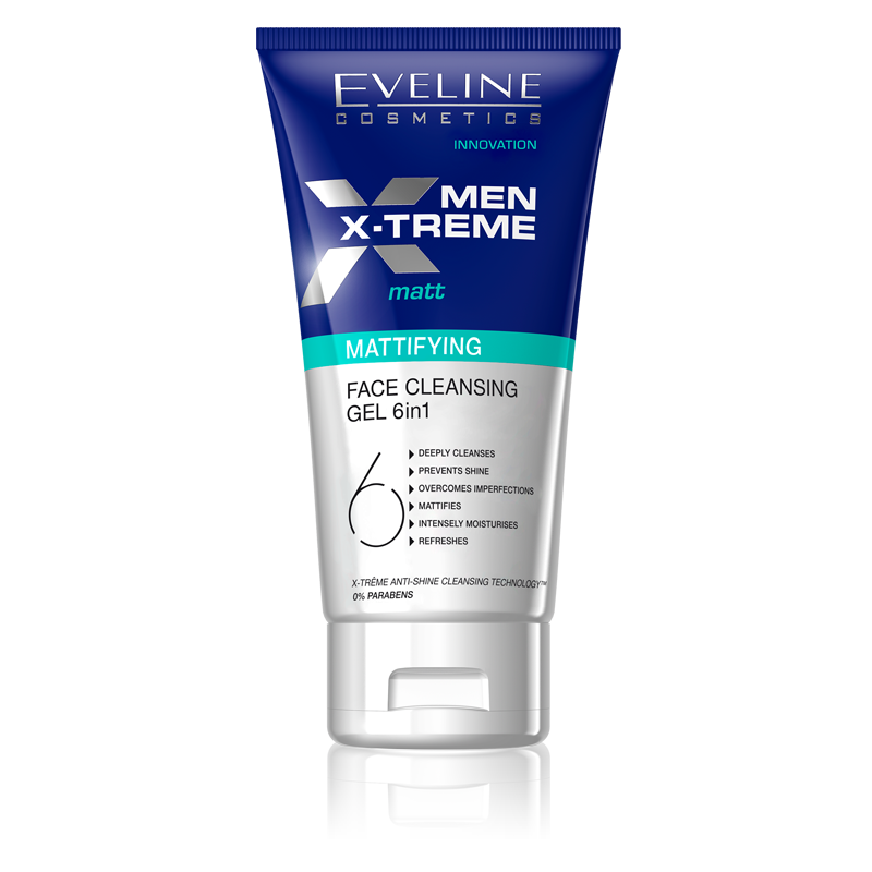 Eveline Men X-Treme Mattifying Face Cleansing Gel