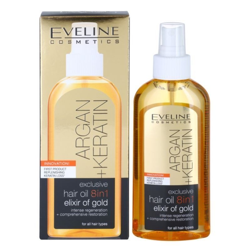 Eveline Argan & Keratin Hair Oil