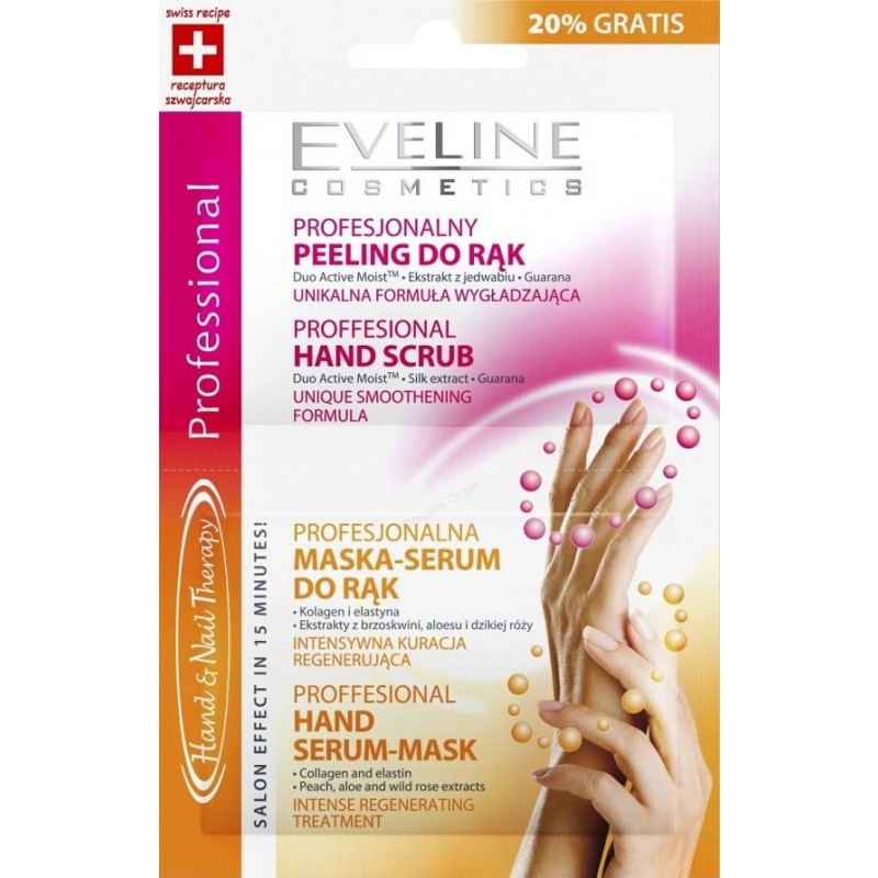 Eveline Nail Therapy Hand Peeling & Mask