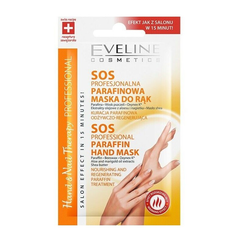 Eveline Nail Therapy SOS Paraffin Hand Mask