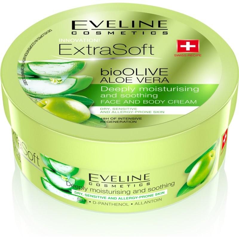Eveline Extra Soft Bio Olive Face & Body Cream