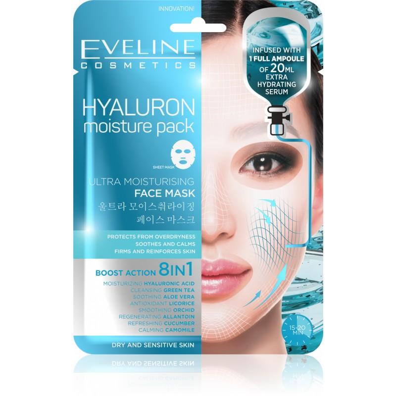 Eveline Hyaluron Moisturising Face Mask