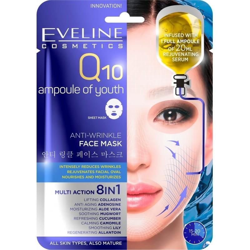 Eveline Q10 Anti-Wrinkle Face Mask