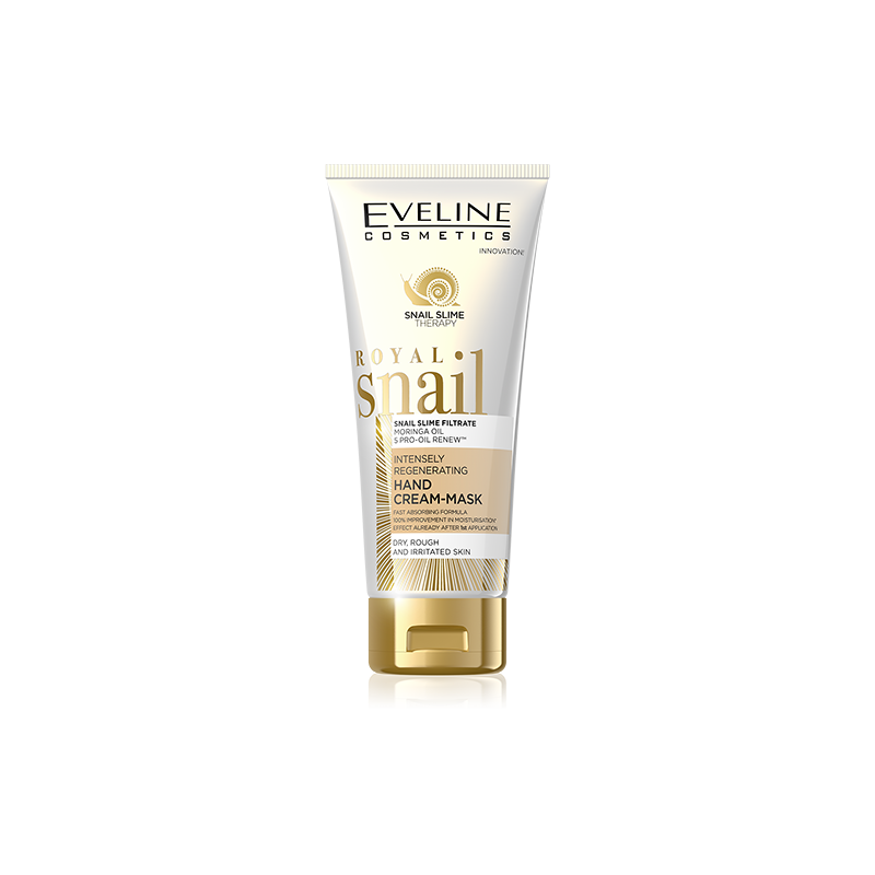 Eveline Royal Snail Regenerating Hand Cream-Mask