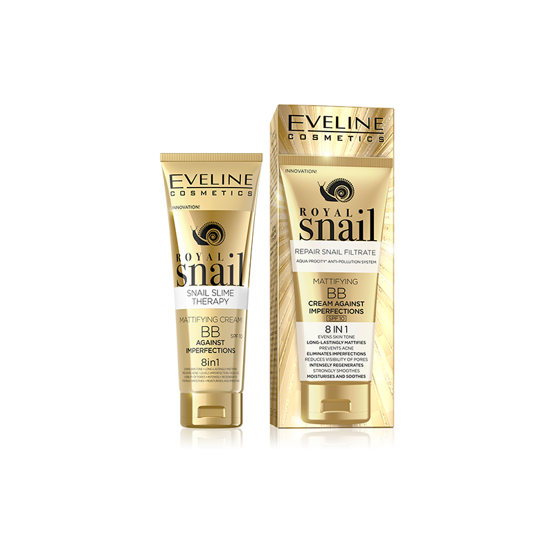 Eveline Royal Snail 8in1 Mattifying BB Cream