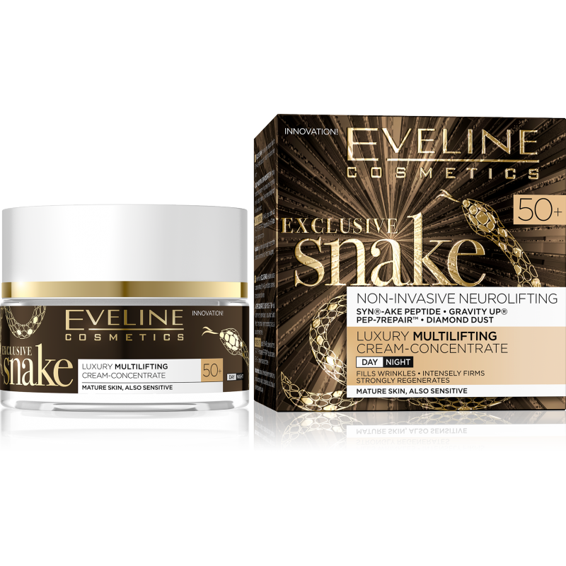Eveline Eveline Exclusive Snake Multilifting Day & Night Cream 50+ 50 ml