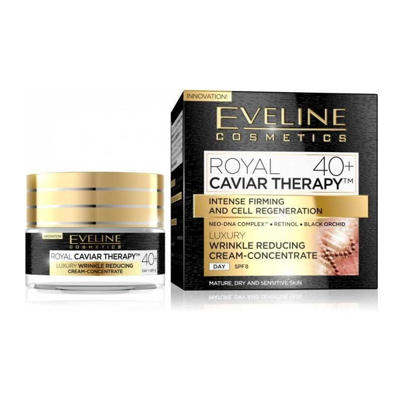 Eveline Royal Caviar Therapy Wrinkle Reducing Day Cream 40+ SPF8