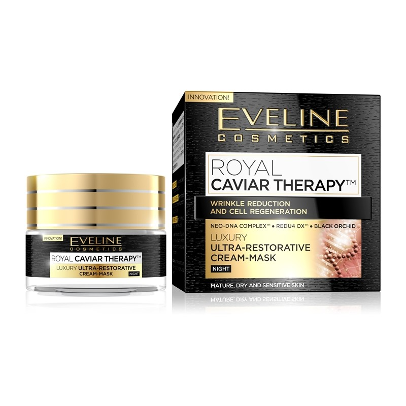 Eveline Royal Caviar Therapy Night Cream-Mask