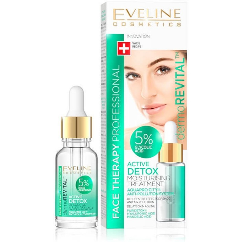 Eveline DermoRevital Detox Moisturising Treatment