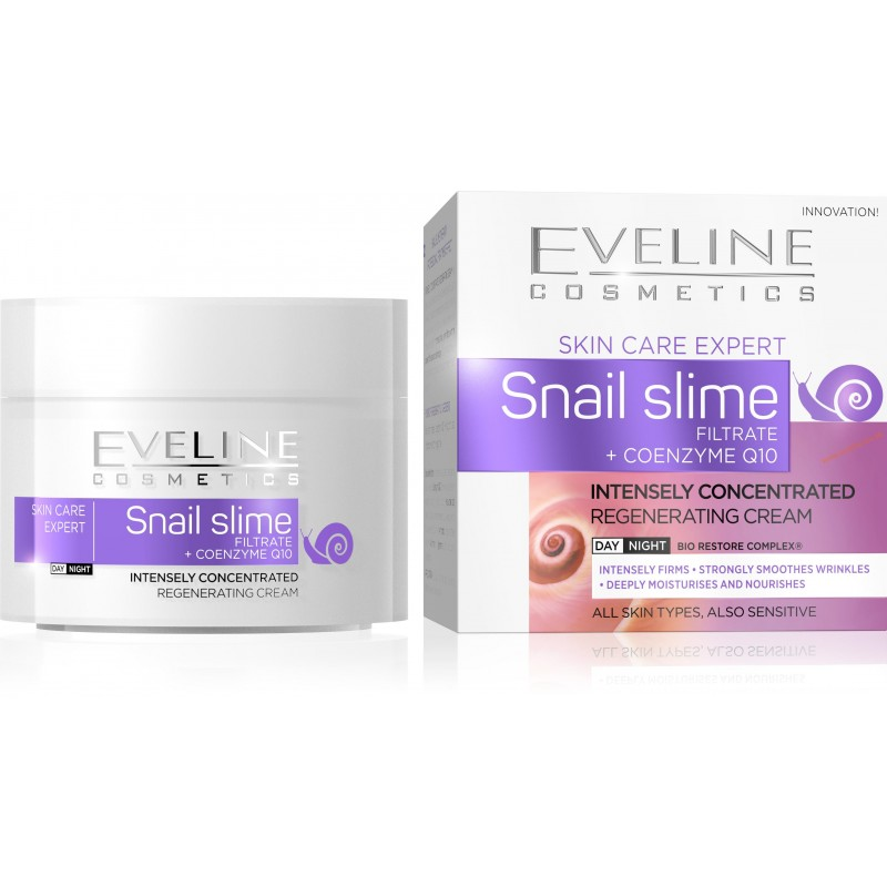 Eveline Snail Slime Filtrate + Coenzyme Q10 Concentrated Cream