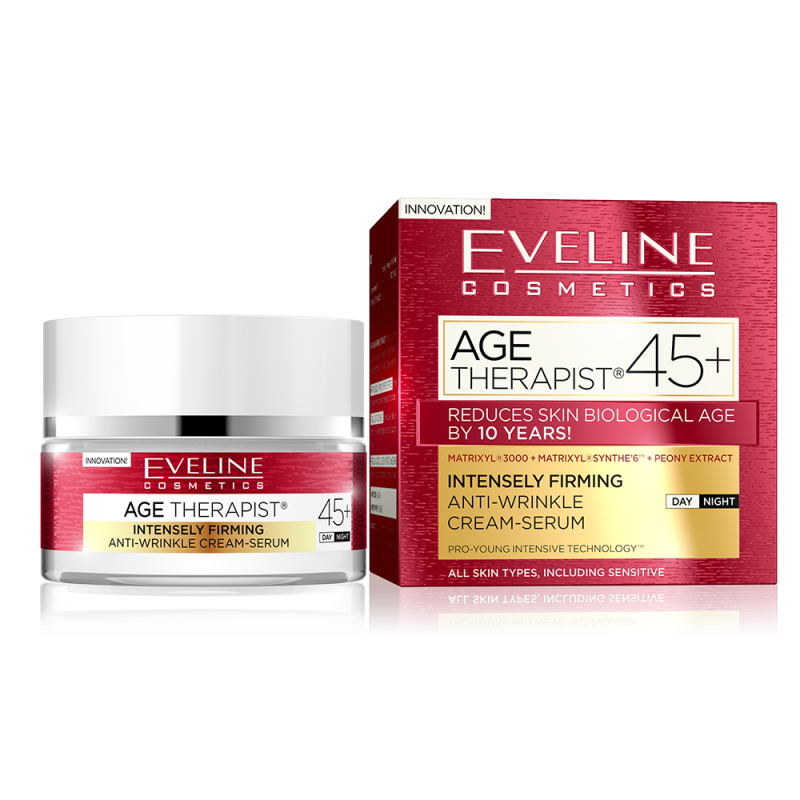 Eveline Age Therapist Firming Anti-Wrinkle Cream-Serum 45+