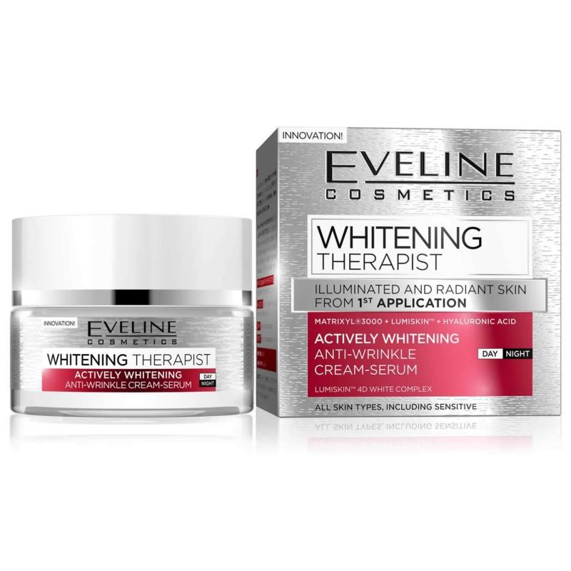 Eveline Whitening Therapist Anti-Wrinkle Day & Night Cream-Serum