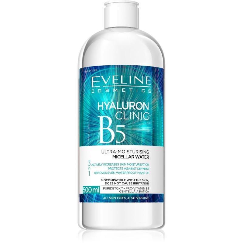 Eveline Hyaluron Clinic Moisturising Micellar Water