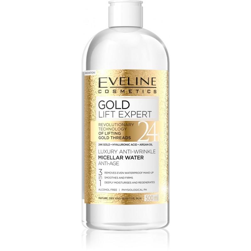 Eveline Gold Lift Expert Luxury Anti-Age Micellar Water