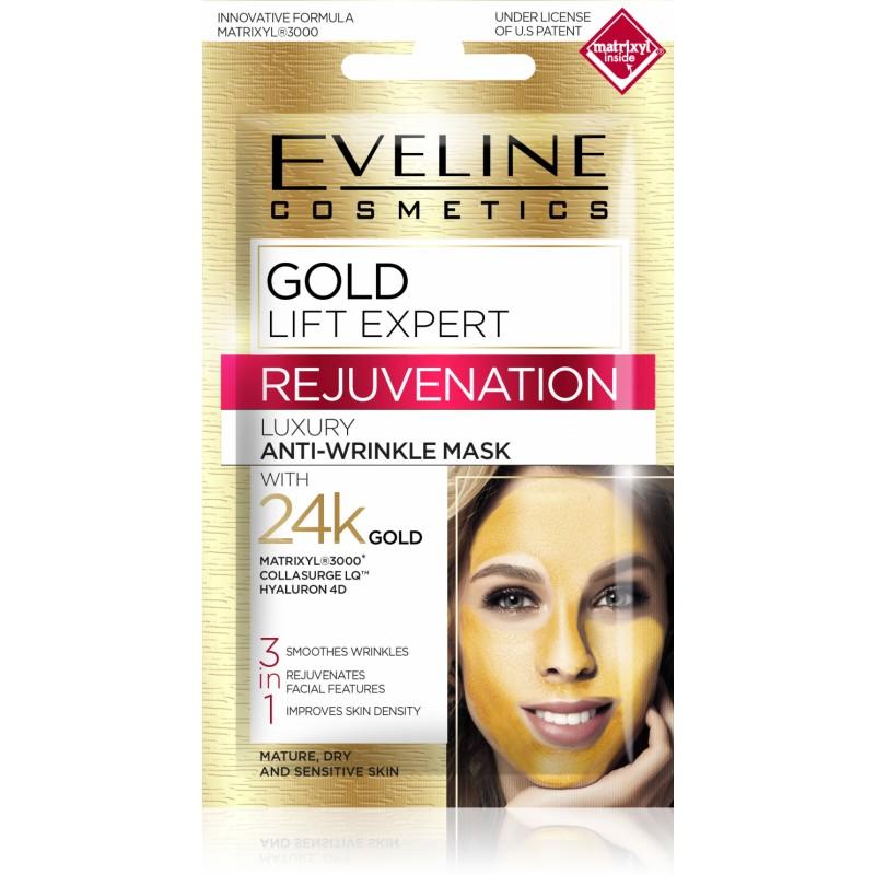 Eveline Gold Lift Expert Luxury Anti-Wrinkle Mask