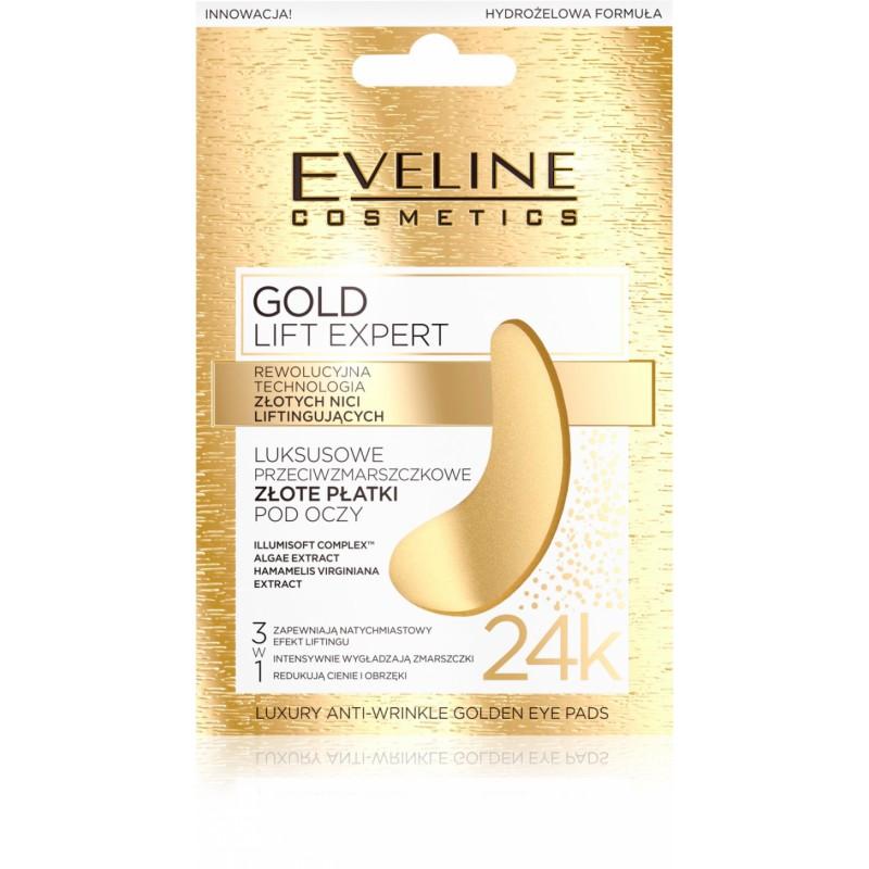 Eveline Gold Lift Expert Anti-Wrinkle Golden Eye Pads