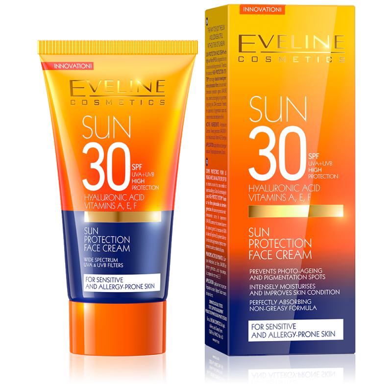 Eveline Sun Protection Face Cream SPF30