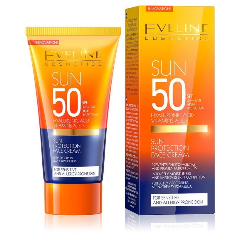 Eveline Sun Protection Face Cream SPF50