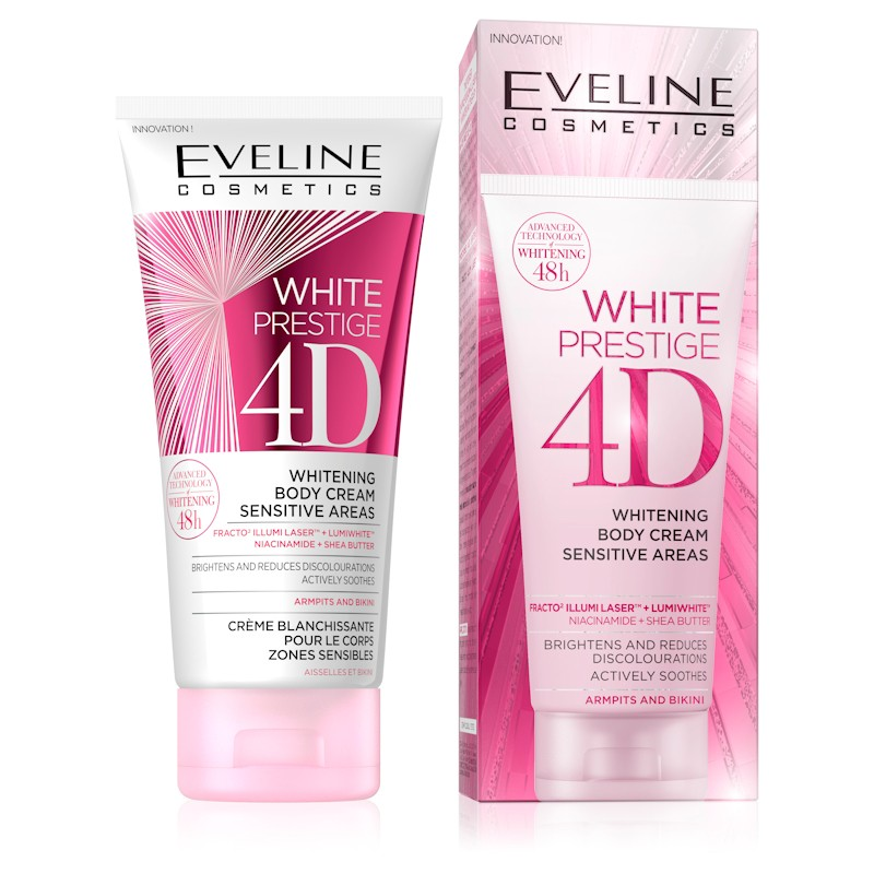 Eveline White Prestige 4D Whitening Body Cream Sensitive