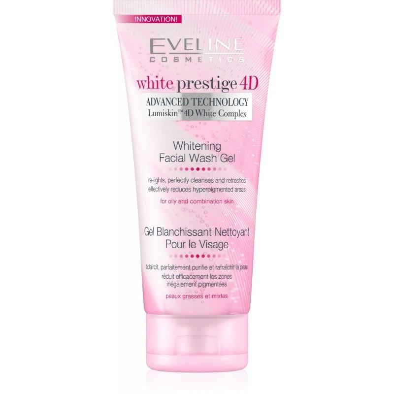 Eveline White Prestige 4D Whitening Facial Wash Gel