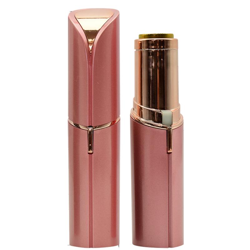 Basics Facial Hair Remover Lipstick Pen Rose